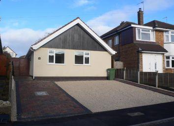 Thumbnail 3 bed detached bungalow to rent in Stonehouse Close, Cubbington, Leamington Spa
