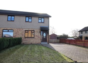 Thumbnail 3 bed semi-detached house for sale in Bankton Park East, Livingston