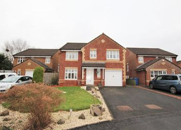 Thumbnail 4 bed detached house for sale in Castleknowe Gardens, Carluke