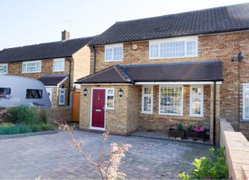 Thumbnail 3 bed semi-detached house for sale in Stanborough Avenue, Borehamwood