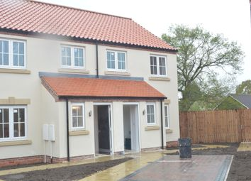 Thumbnail 2 bed semi-detached house for sale in Old Bawtry Road, Finningley, Doncaster