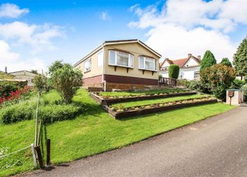 Thumbnail 2 bed mobile/park home for sale in Upton Park, Main Street, Upton, Huntingdon