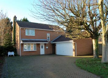 Thumbnail 4 bedroom detached house for sale in Ibstock Close, Off Billing Lane, Northampton