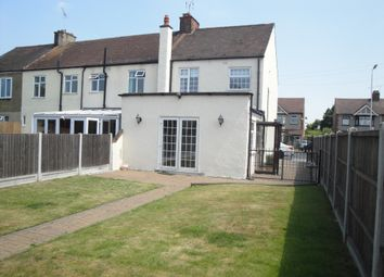 Thumbnail 3 bedroom semi-detached house to rent in Dagenham Road, Rush Green