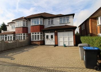 Thumbnail 4 bed semi-detached house to rent in Donnington Road, Harrow, Middlesex