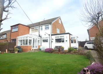 Thumbnail 4 bed semi-detached house for sale in Lambourn Avenue, Widnes, Cheshire
