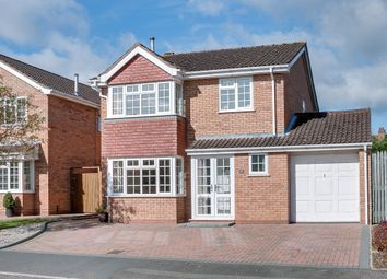 Thumbnail 4 bed detached house for sale in Blackstitch Lane, Webheath, Redditch