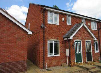 Thumbnail 2 bed semi-detached house to rent in Redbridge Close, Ilkeston