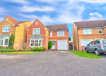 Thumbnail 4 bed detached house for sale in Courtway Crescent, Chellaston, Derby