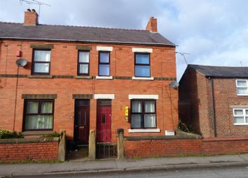 Thumbnail 2 bed end terrace house for sale in Holt Road, Wrexham
