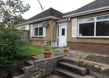 Thumbnail 2 bed bungalow to rent in St. Annes Close, Newbridge, Newport.