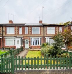 Thumbnail 2 bed terraced house for sale in Holly Grove, Coventry