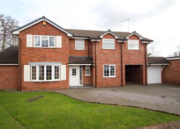 Thumbnail 4 bed detached house for sale in Danebower Road, Trentham, Stoke-On-Trent