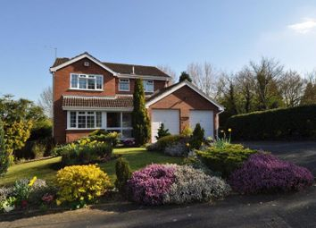 Thumbnail 5 bed detached house for sale in Weatheroak Close, Redditch