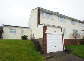 Thumbnail 4 bed semi-detached house for sale in Snowdon Close, Risca, Newport, Caerphilly