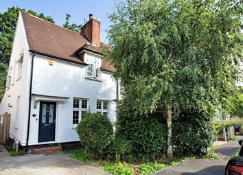 Thumbnail 3 bed end terrace house for sale in Birchwood Road, West Byfleet