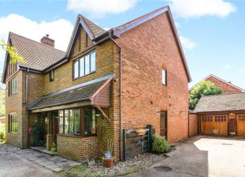 Thumbnail 5 bedroom detached house for sale in Ramsdell Road, Fleet