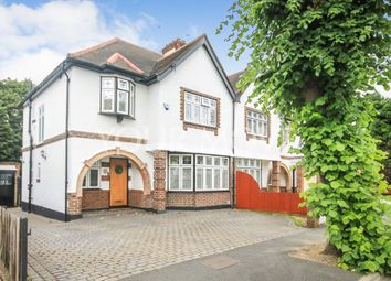 Thumbnail 3 bed semi-detached house for sale in Tudor Avenue, Romford