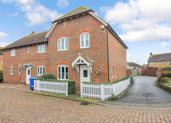 Thumbnail 3 bed end terrace house for sale in Sharfleet Crescent, Iwade, Sittingbourne