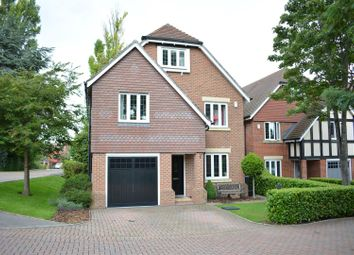 Thumbnail 5 bed detached house for sale in Poplar Close, Epsom