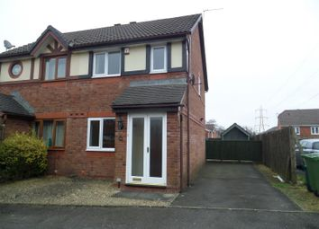 Thumbnail 2 bed end terrace house to rent in Llwyn Onn, Pontyclun