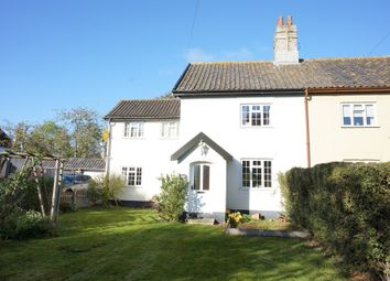 Thumbnail 3 bed semi-detached house for sale in Topcroft Street, Topcroft, Bungay