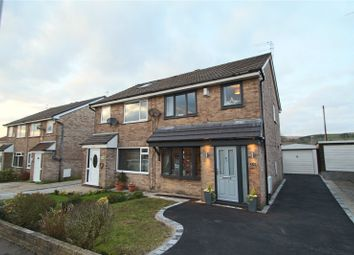 Thumbnail 3 bed semi-detached house for sale in Elmsfield Avenue, Norden, Rochdale, Greater Manchester