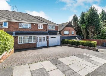 Thumbnail 4 bed semi-detached house for sale in Bewlys Avenue, Handsworth Wood, Birmingham, West Midlands
