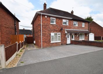 Thumbnail 3 bed semi-detached house for sale in Fitzherbert Road, Stoke-On-Trent