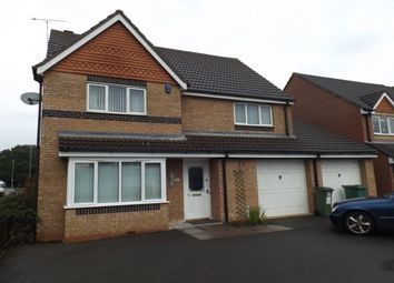Thumbnail 4 bed detached house to rent in Jewsbury Way, Leicester