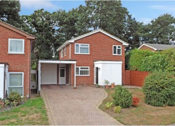 Thumbnail 4 bed detached house for sale in Oakway Drive, Frimley