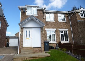 Thumbnail 3 bedroom semi-detached house for sale in Hardwick Close, Aston, Sheffield