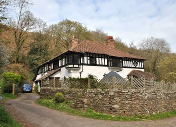 Thumbnail 5 bed detached house for sale in Hawkcombe, Porlock, Minehead, Somerset