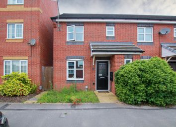 Thumbnail 3 bed semi-detached house for sale in Panama Road, Burton-On-Trent