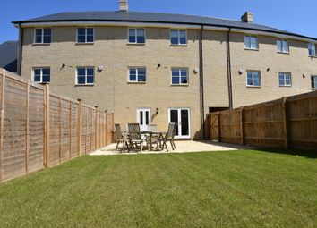 Thumbnail 3 bed town house for sale in Bibbys Way, Framlingham, Woodbridge