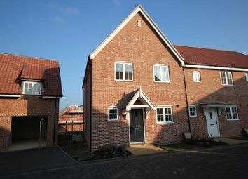 Thumbnail 3 bed end terrace house for sale in King Edgar Close, Ely