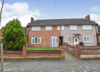 Thumbnail 2 bed terraced house for sale in Brockley Crescent, Romford