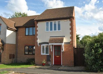 Thumbnail 2 bedroom end terrace house for sale in Chatsworth Road, Abbey Meads, Swindon
