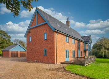 Thumbnail 4 bed detached house for sale in Strumpshaw Road, Brundall, Norwich