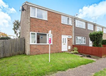 Thumbnail 3 bed end terrace house for sale in Higham Green, King's Lynn
