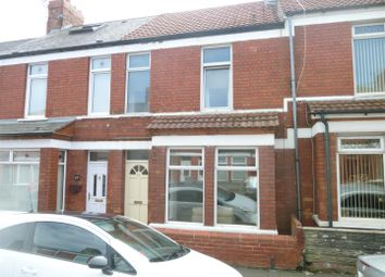Thumbnail 3 bedroom terraced house to rent in Castle Street, Barry