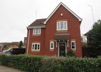 Thumbnail 3 bed detached house for sale in Harcourt Way, Northampton