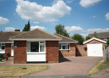 Thumbnail 2 bed semi-detached bungalow for sale in Ravensbourne Drive, Woodley, Reading, Berkshire