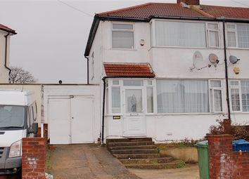 Thumbnail 3 bedroom end terrace house for sale in Gainsborough Gardens, Edgware