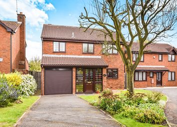 Thumbnail 4 bed detached house for sale in Slaidburn Close, Mickleover, Derby