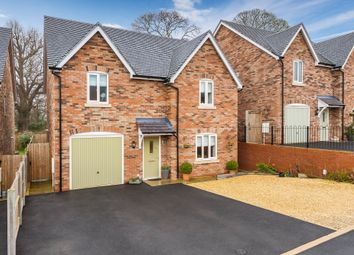 Thumbnail 4 bed detached house for sale in Old Rectory Fields, Waters Upton, Telford