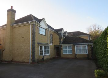 Thumbnail 5 bed detached house for sale in Tancred Close, Wootton, Northampton