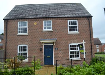 Thumbnail 3 bedroom detached house for sale in Reading Avenue, Church Gresley, Swadlincote