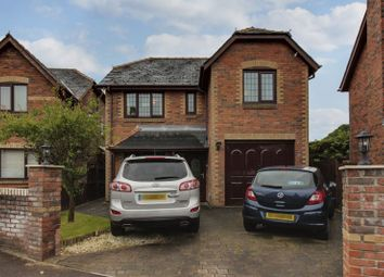 Thumbnail 4 bed detached house for sale in Cwrt Morgan, Caerwent, Caldicot
