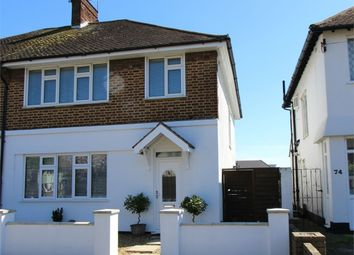 Thumbnail 3 bed semi-detached house for sale in Eastbourne Grove, Westcliff-On-Sea, Essex